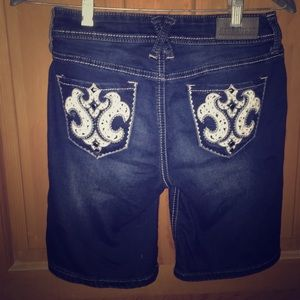 Hydraulic Pants - #Hydraulic soft jean shorts with pocket detailing