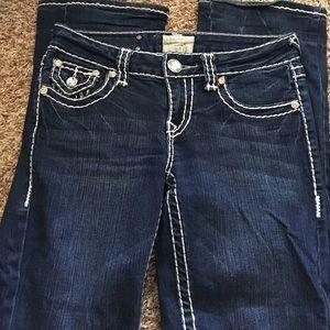 LA Idol boot cut jeans size 3