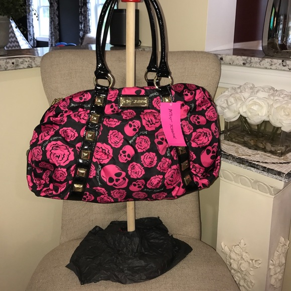 0d06110c999 Betsey Johnson Bags   Nwt Betsy Johnson Touched Satchel Tossing ...