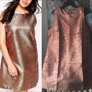 Alice & You Dresses & Skirts - Metallic Mini Shift Dress