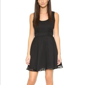 cupcakes and cashmere Rudy Open Back Dress