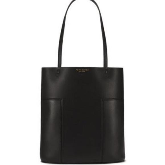 bd38db2b794a Tory burch block t medium tote bag new black. M 5936d573c28456b09803664f