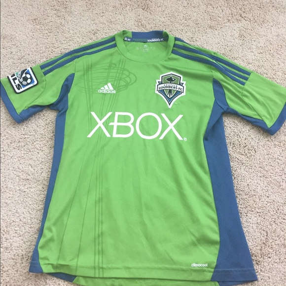 the best attitude 304f7 e40b2 Boys XBOX Seattle Sounders Soccer Jersey - Adidas