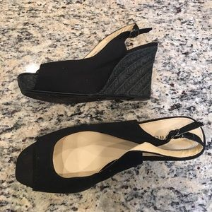Nine West Shoes - Black wedges