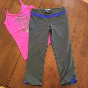 Forever 21 grey workout leggings