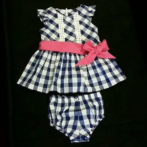 Hartstrings Other - Hartstrings Dress Outfit - Sz 6-9 Mos.
