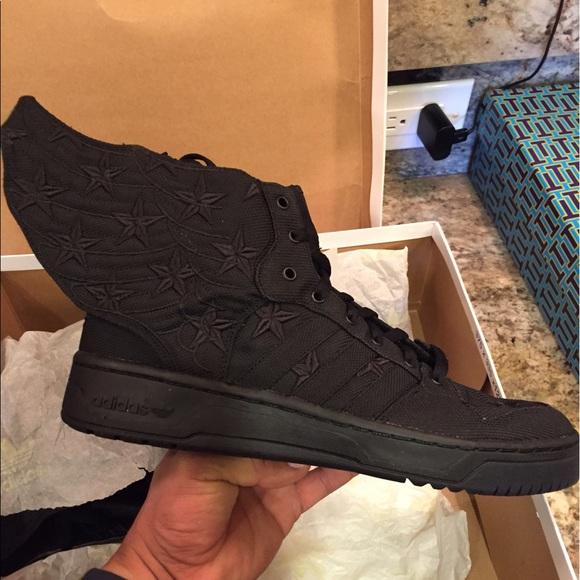 buy popular 45082 97ae5 NIB Jeremy Scott Adidas Black Flag ASAP Rocky x