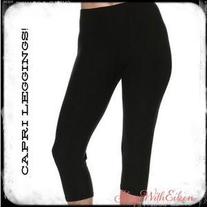 Always Pants - 🆕 Always BLACK Solid OS CAPRI Leggings
