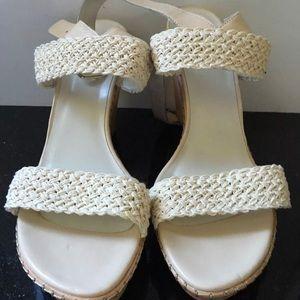 Stuart Weitzman Shoes - Stuart Weitzman Alex Ivory Wedges Sandals 11