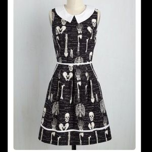 ModCloth Dresses & Skirts - Anatomically correct glow in the dark dress