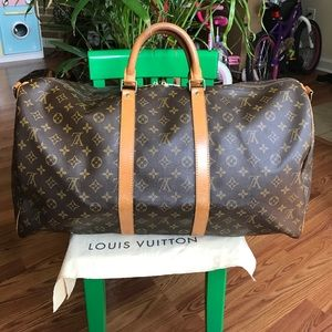 Louis Vuitton Handbags - 🔴LAST PRICE🔴Louis Vuitton Keepall Bandoulièr 55