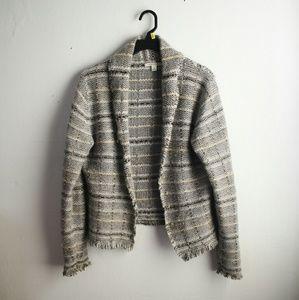 Banana Republic Sweaters - Banana Republic Striped Knit Cardigan