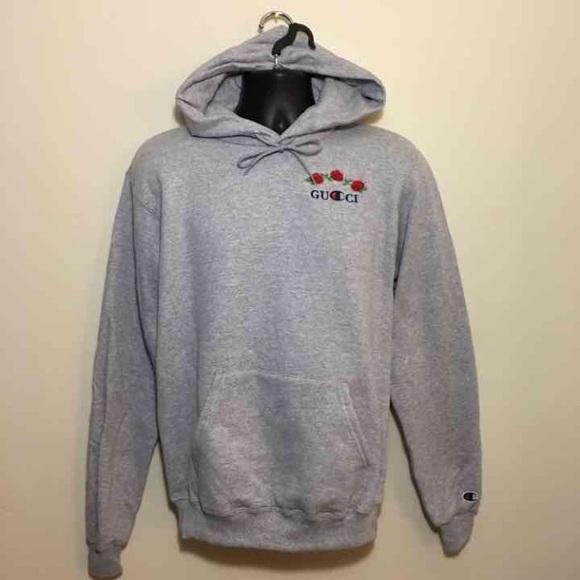 56acc6638fa Gucci x Champion hoodie