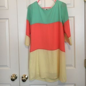 Mossimo Supply Co. Dresses & Skirts - Color Block Dress