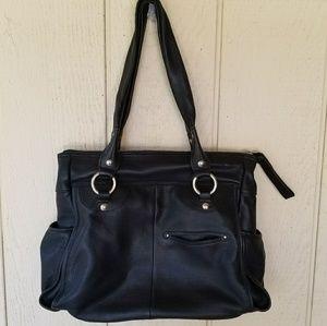 b. makowsky Handbags - B Makowsky black leather bag