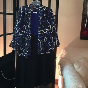Cato Dresses & Skirts - Blue and Black Shirt and Jacket combo