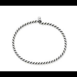 James Avery Jewelry - James Avery Twisted Wire Hook-On Bracelet - Silver
