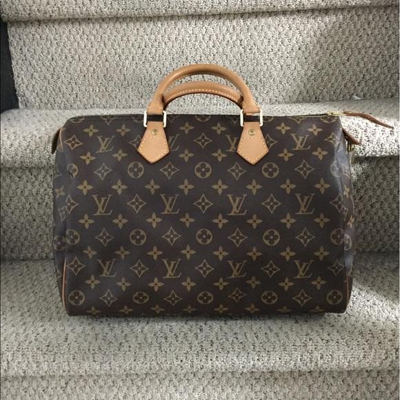 Louis Vuitton Handbags - Louis Vuitton Speedy 35