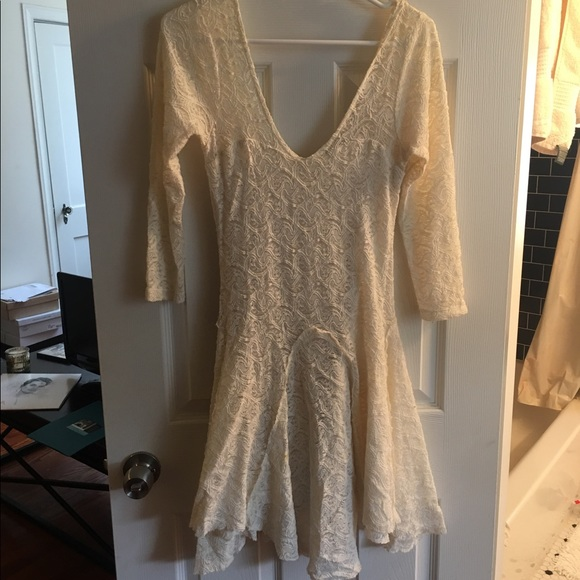 Free People Dresses & Skirts - White Lace Free People Dress