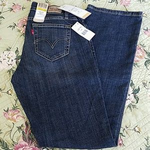 New With Tags Levi's Curvy Figure Enhancer Jeans