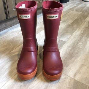 Hunter Other - Original kids Hunter boots size 1 girls / 13 boys
