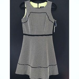 Oleg Cassini Dresses & Skirts - Checkered dress