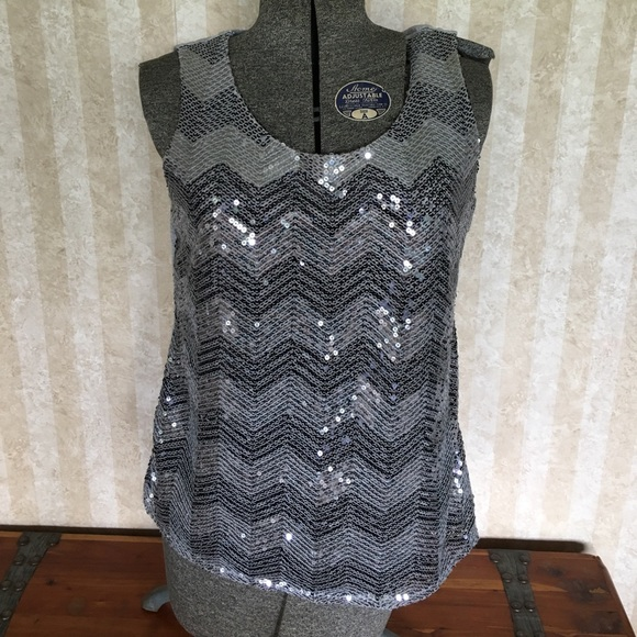 Coldwater Creek Tops - Sequined tank top.