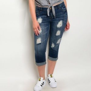 Denim - Arrived!! {Plus} Distressed Jeans