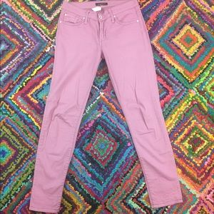 James Jeans Denim - JAMES JEANS Size 27 James Twiggy Pink Iris