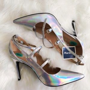 Banana Republic Shoes - Holographic Banana Republic Pumps