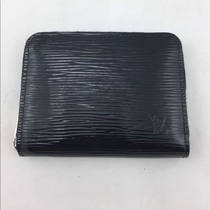 Louis Vuitton Handbags - Louis Vuitton Black Epi Small Wallet!