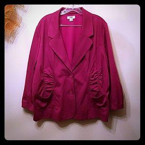 Cato Jackets & Blazers - EUC 22/24W Cato Blazer With Adorable Ruching