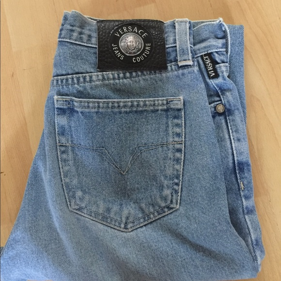 21f8b1144742e Vintage VERSACE mom jeans from the 90 s. M 5937097c99086a583d013824