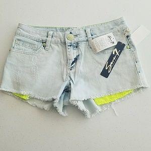 Denim Shorts 27