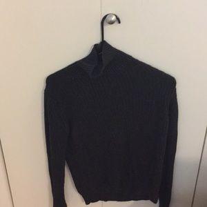 Zara black knit turtle neck