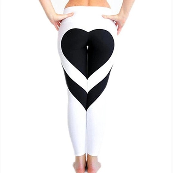 086a4b33f9182 Heart shaped butt leggings workout fitness pants. M_59370cde2599fec5a9014965