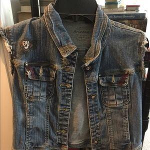Jackets & Blazers - Denim Vest