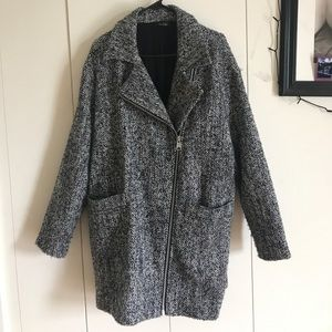 Oversized wool coat from Topshop