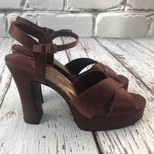 💕SALE💕Chinese Laundry Copper Heels