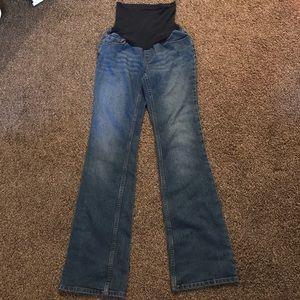 Motherhood maternity size small denim jeans
