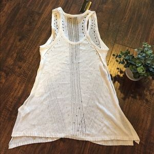 LAmade Tops - •LA Made• NWT Emely Side Slit Sweater Tank
