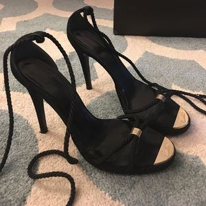 Gucci Shoes - Gucci Authentic lace up heels!