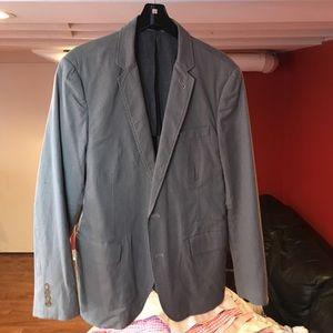 J. Crew seersucker sport jacket