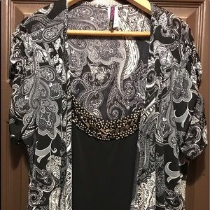 Woman's one piece blouse