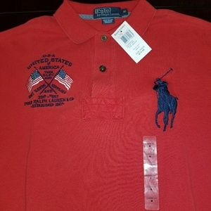 Polo by Ralph Lauren Other - Polo Ralph Lauren US Flag Polo