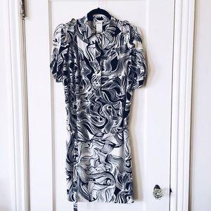 Ali Ro Dresses & Skirts - Ali Ro Silk Tie Dress