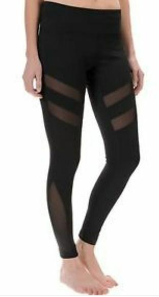 ab0855f70d89d yogalicious Pants | Sz Xs Mesh Panel Yoga Leggings | Poshmark