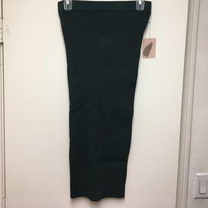 Forever 21 Hunter Green Bodycon Skirt