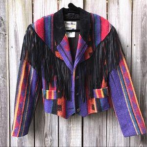Pioneer Wear Jackets & Blazers - Vintage Pioneer Wear Fringe Jacket