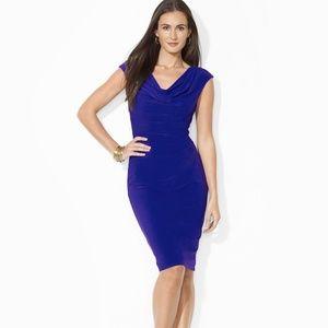 Ralph Lauren Purple Sleeveless Dress